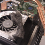 dirty fan during laptop repair springfield mo laptop overheating